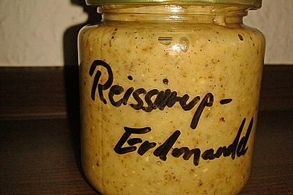 Erdmandel-Reissirup-Aufstrich