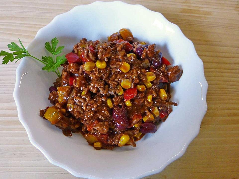 Einfaches Chili Con Carne Mit Schokolade Von Berti22 Chefkochde