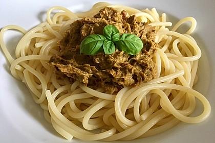 Spaghetti mit Avocado-Pesto 2