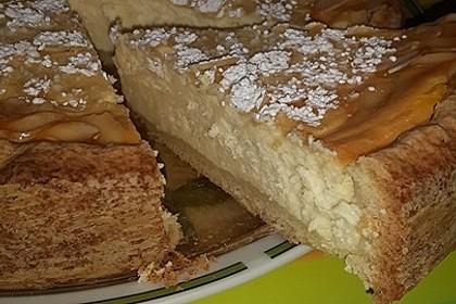 Käsekuchen mit Frischkäse und Mascarpone 3