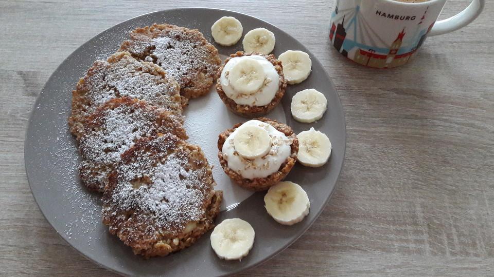 Gesunde Bananen Haferflocken Pfannkuchen Von Bluemchenwiese