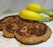 Gesunde Bananen-Haferflocken-Pfannkuchen (Bild)