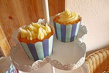 Grapefruit-Cupcakes mit Buttercreme