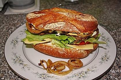 Ciabatta Cheeseburger 1