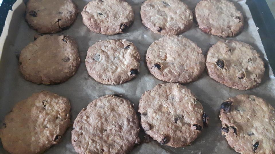 Musli Cookies Aus Sojamilch Von Veganery Chefkoch De