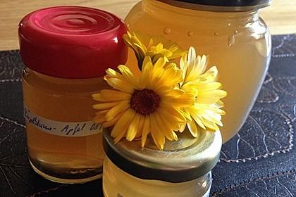 Ringelblumen-Apfel-Gelee