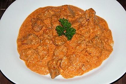 Rahmgulasch aus dem Crock Pot / Slow Cooker 2