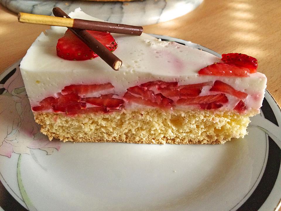 Leichte Joghurt Frucht Torte Von Xenon2008 Chefkoch De