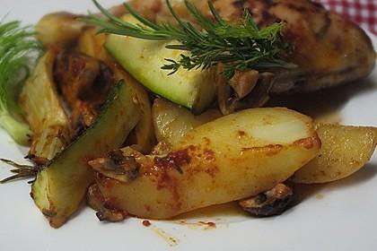 Mediterrane Kartoffel-Gemüsepfanne 17
