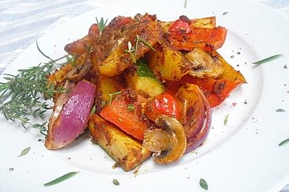 Mediterrane Kartoffel-Gemüsepfanne 2