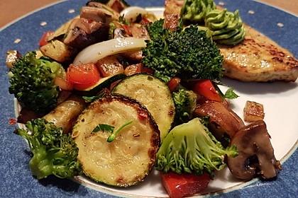 Mediterrane Kartoffel-Gemüsepfanne 3