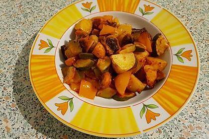 Mediterrane Kartoffel-Gemüsepfanne 24