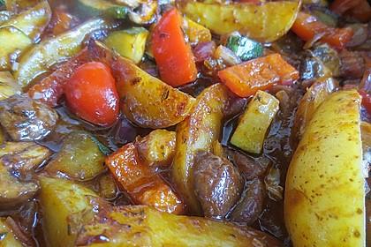Mediterrane Kartoffel-Gemüsepfanne 19