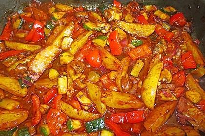 Mediterrane Kartoffel-Gemüsepfanne 14