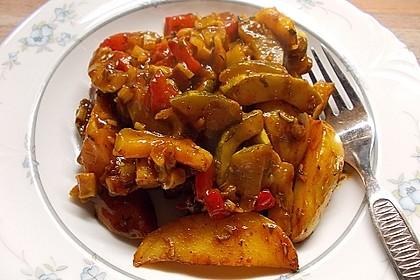 Mediterrane Kartoffel-Gemüsepfanne 12