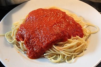 Tomatensauce aus ofengerösteten Tomaten 18