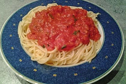 Tomatensauce aus ofengerösteten Tomaten 7
