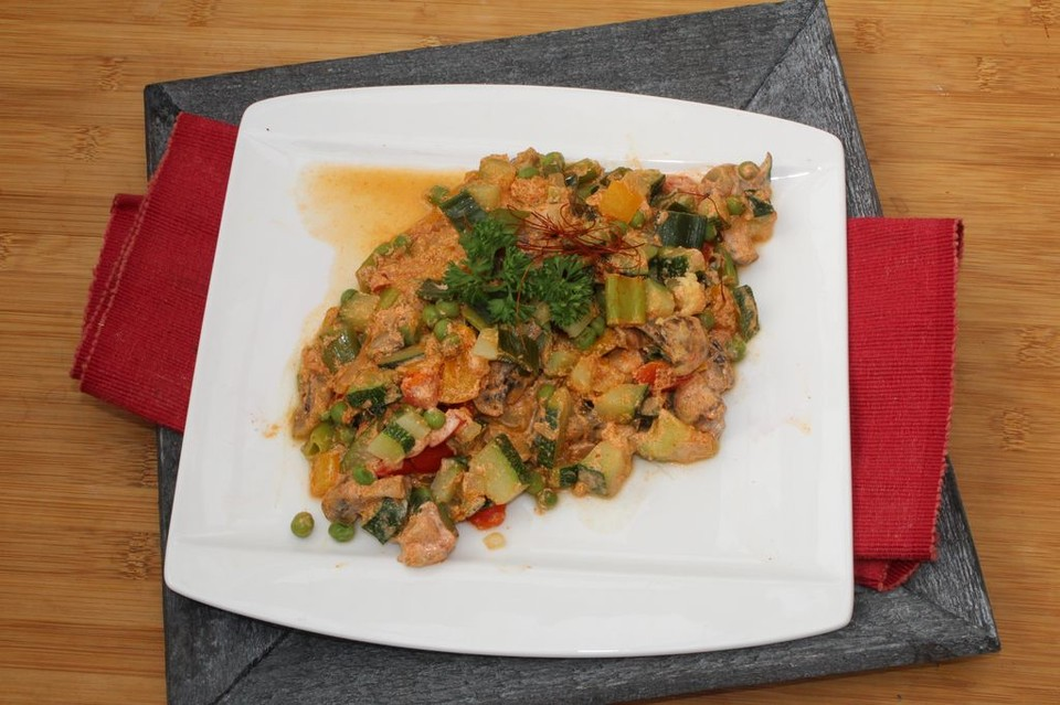 Sommerküche Chefkoch : Schnelle einfache gemüsepfanne von mimamutti chefkoch