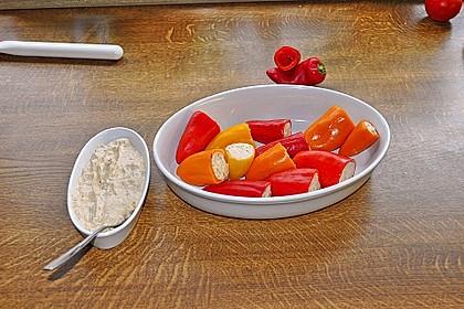 Snack-Paprika, delikat gefüllt