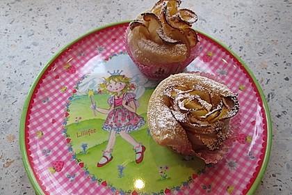 Apfel-Zimt-Rosen mit Blätterteig 56