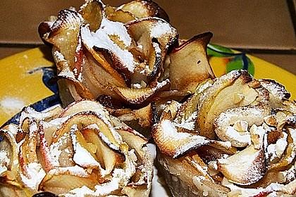 Apfel-Zimt-Rosen mit Blätterteig 53
