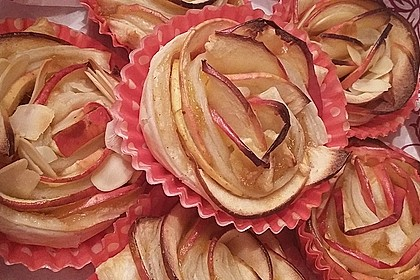 Apfel-Zimt-Rosen mit Blätterteig 40