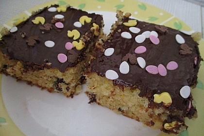 Veganer Schokoladen-Orangen-Kuchen 7