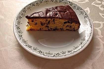 Veganer Schokoladen-Orangen-Kuchen 2