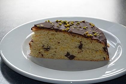 Veganer Schokoladen-Orangen-Kuchen 1
