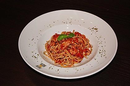 Spaghetti frutti di mare (Bild)