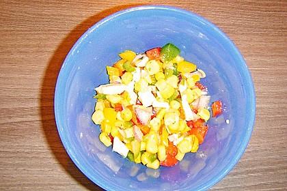 Paprika-Mais-Käse-Salat 1