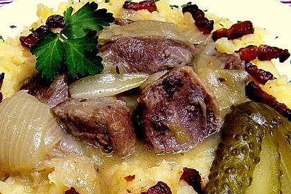Berliner Bollenfleisch mit Quetschkartoffeln