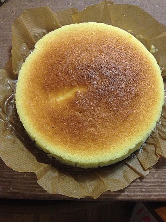Japanischer Souffle Kasekuchen Von Bourbie Chefkoch De