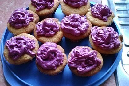 Heidelbeer-Mascarpone-Frosting für Cupcakes 19