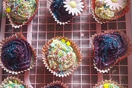 Heidelbeer-Mascarpone-Frosting für Cupcakes 18