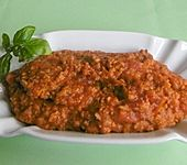 Vegetarische Bolognese (Bild)