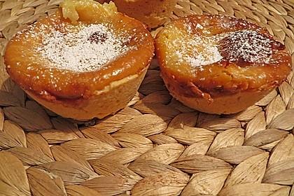 Milchmädchen-Muffins mit Puddingfüllung