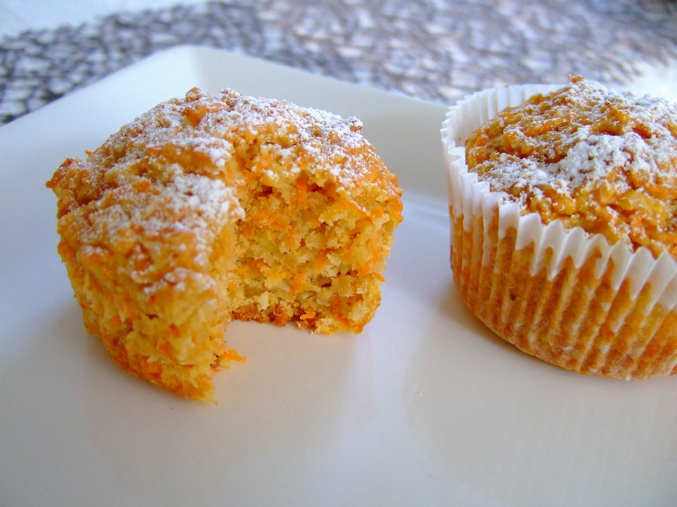 Apfel Mohren Kokos Muffins Von Sein Gartenzwerg Chefkoch De