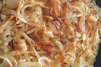 Champignon-Kräuter-Spätzle mit Honig-Röstzwiebeln 24