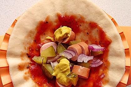 HotDog-Pizzataschen