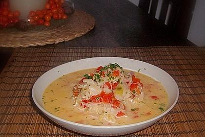 Sauerkraut - Paprika - Feta Suppe 2