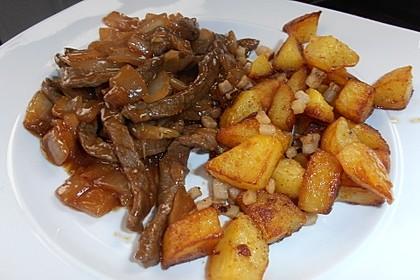 Rindfleisch mit Zwiebeln 5