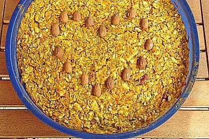 Möhren - Zucchini - Apfel - Kuchen 11