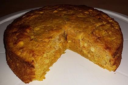 Möhren - Zucchini - Apfel - Kuchen 1