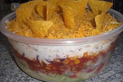 Mexikanischer Schichtsalat 43