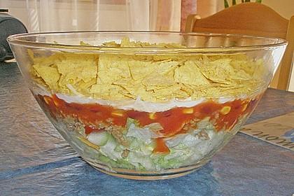 Mexikanischer Schichtsalat 55