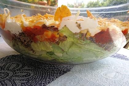 Mexikanischer Schichtsalat 21