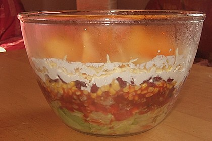 Mexikanischer Schichtsalat 66