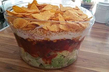 Mexikanischer Schichtsalat 1