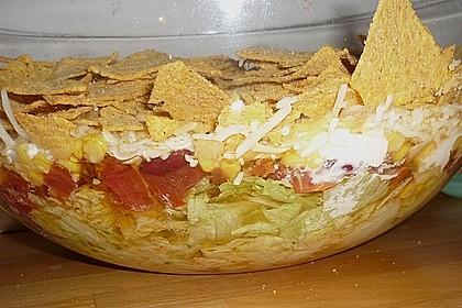 Mexikanischer Schichtsalat 30